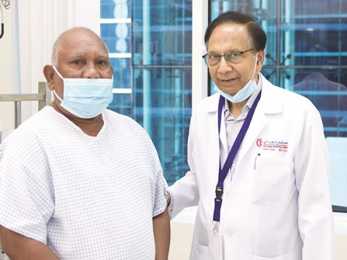 Heart Attack patient undergoes rare lifesaving procedure usually used for dissolving Kidney Stones
